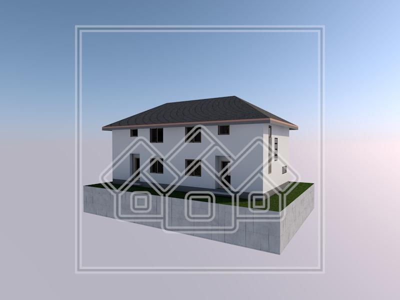 Casa de vanzare in Sibiu Tip Duplex cu gradina spatioasa si amenajata