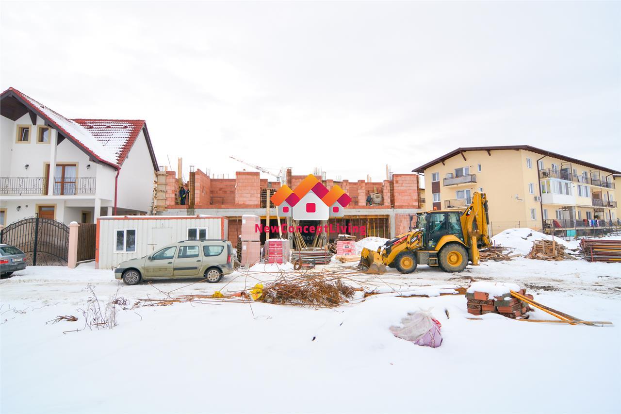 Apartament de vanzare in Sibiu - gradina 105 mp - predare LA CHEIE