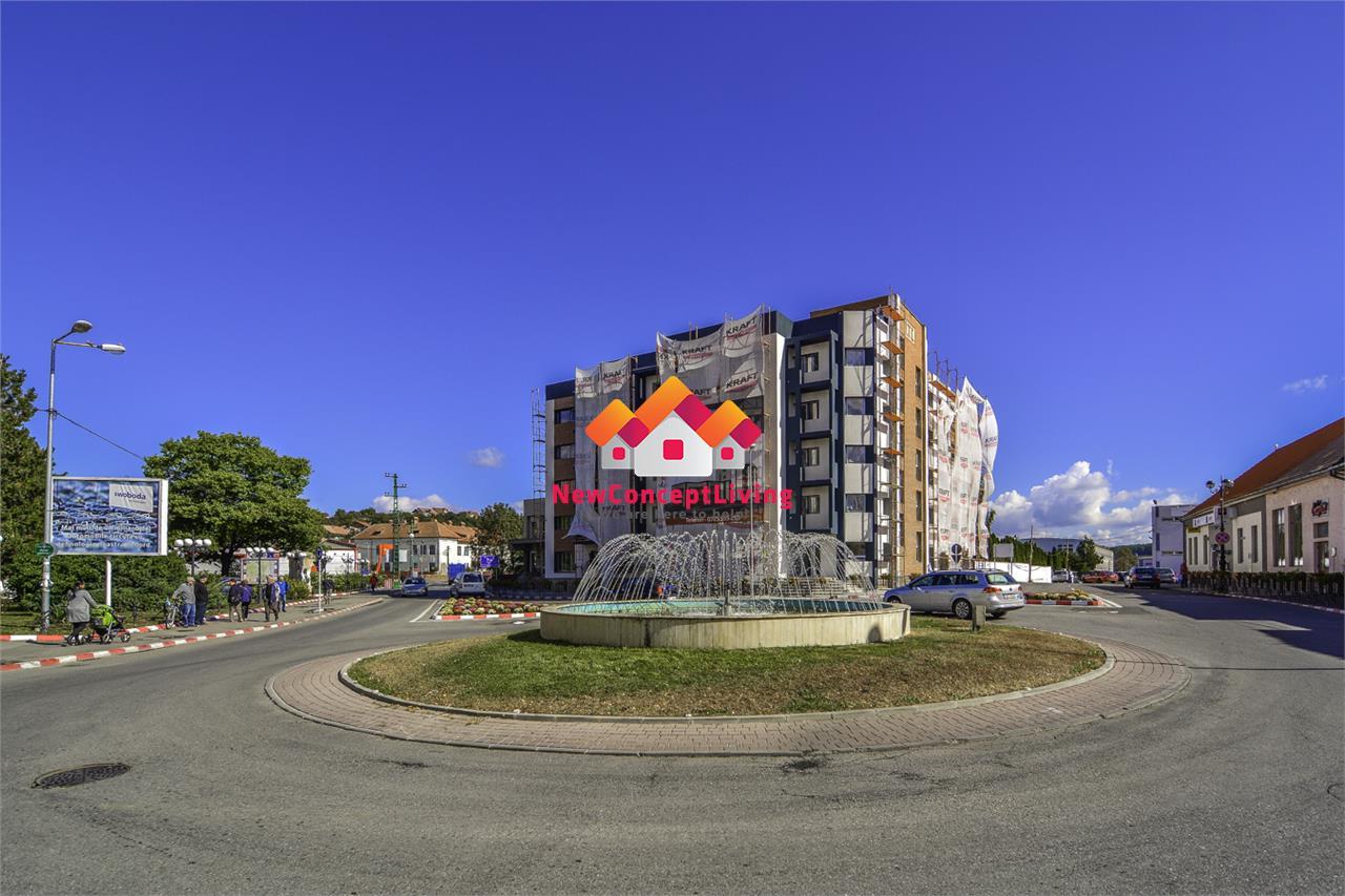 Apartament de vanzare in Sibiu - Cisnadie , 2 camere+ balcon