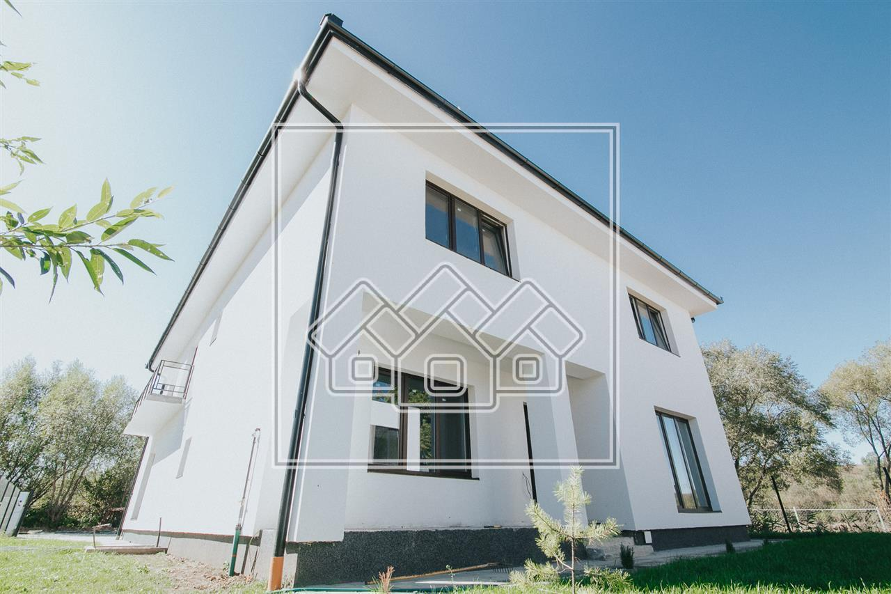 House for sale in Sibiu - duplex type - 4 rooms - Selimbar