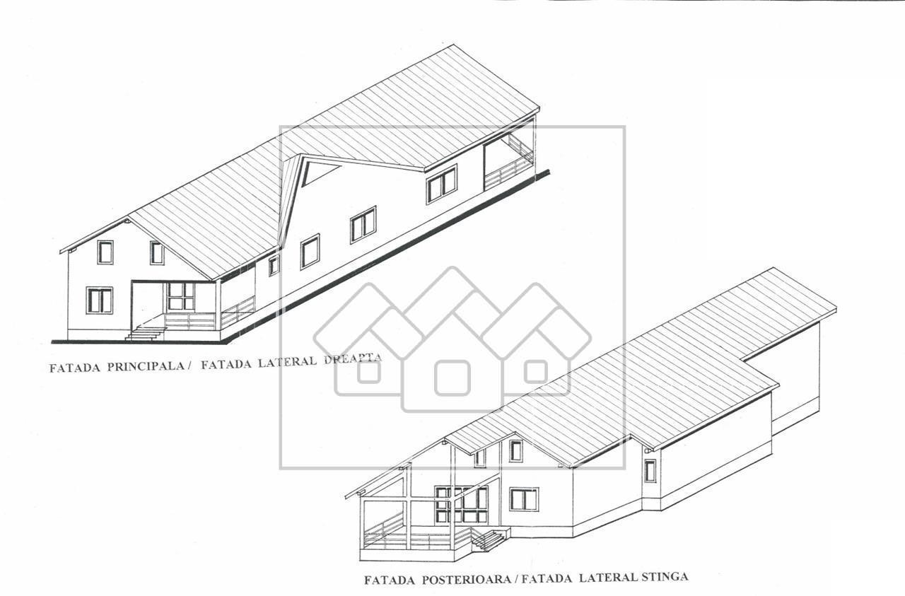 House for sale in Sibiu - individual - mansardable attic - Selimbar