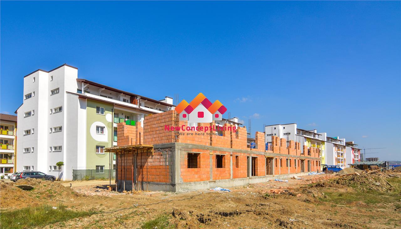 Apartament de vanzare in Sibiu - 2 camere - pretabil spatiu comercial