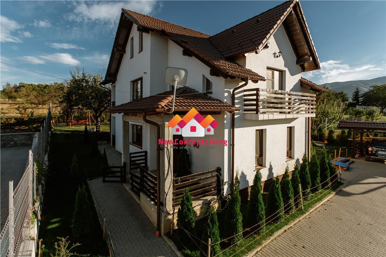 Casa de vanzare in livada cu meri, strada privata, curte de 700 mp