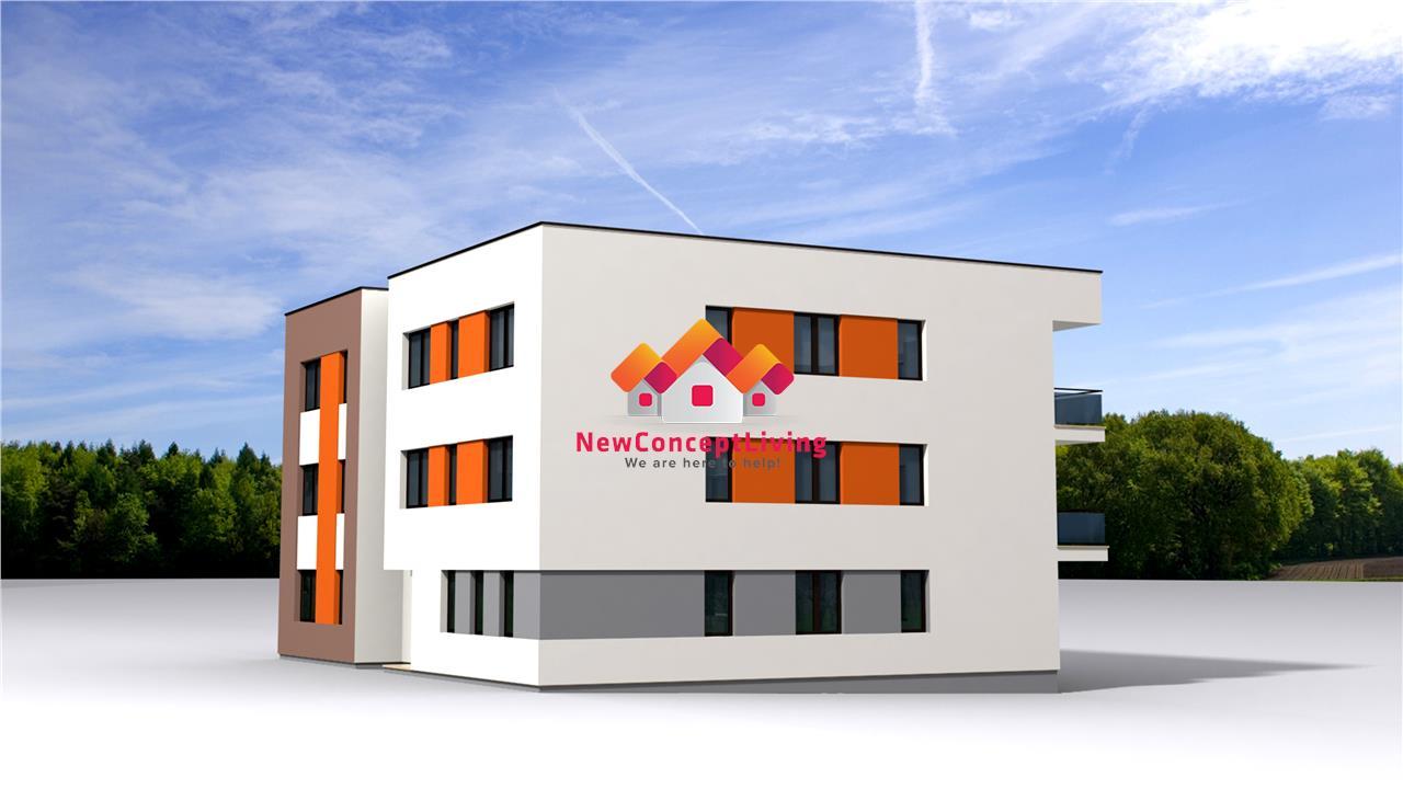 Apartament de vanzare in Sibiu - 2 camere si boxa la parter - Selimbar