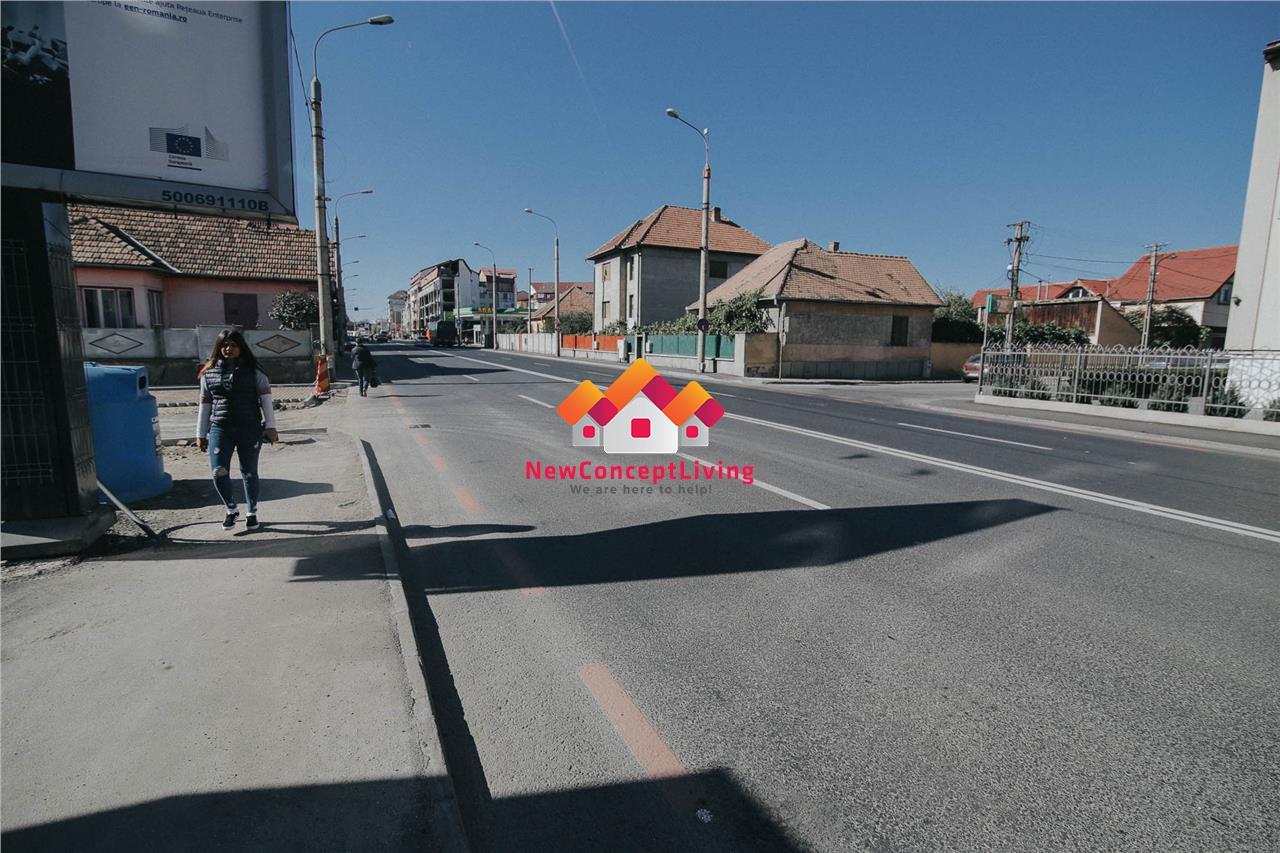 Spatiu comercial de inchiriat in Sibiu - Soseaua Alba Iulia