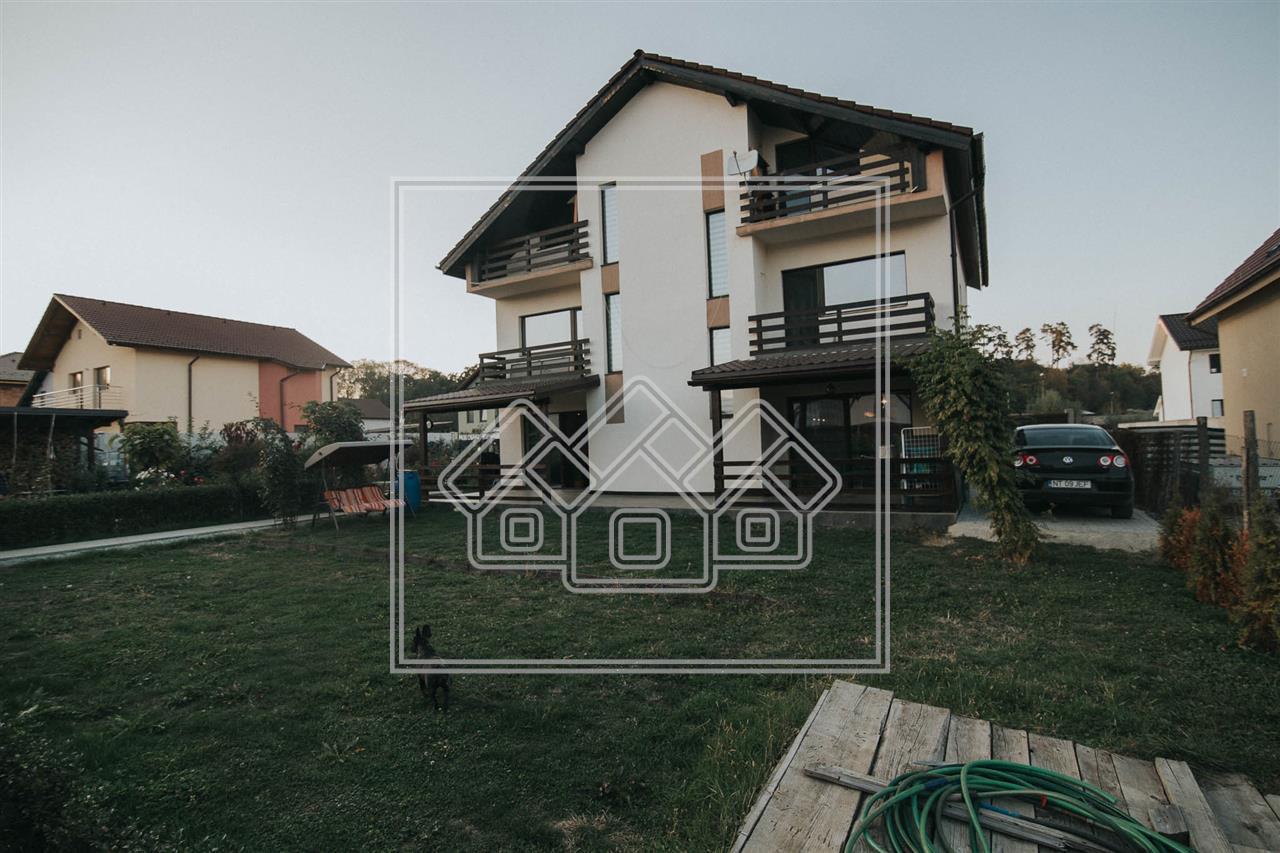 Casa individuala de vanzare in Sibiu - langa padurea Dumbrava