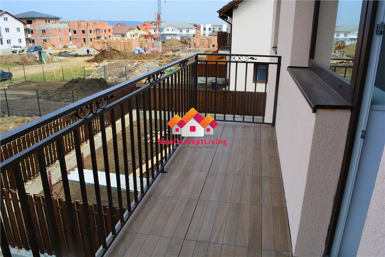 Casa de vanzare in Sibiu - 4 camere cu Teren - Strada dalata + Bariera