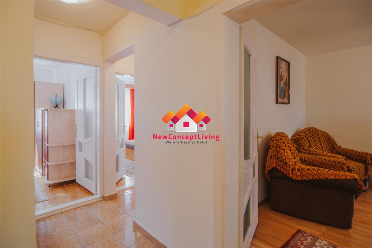 Apartament de inchiriat in Sibiu - 3 camere, decomandat, mobilat
