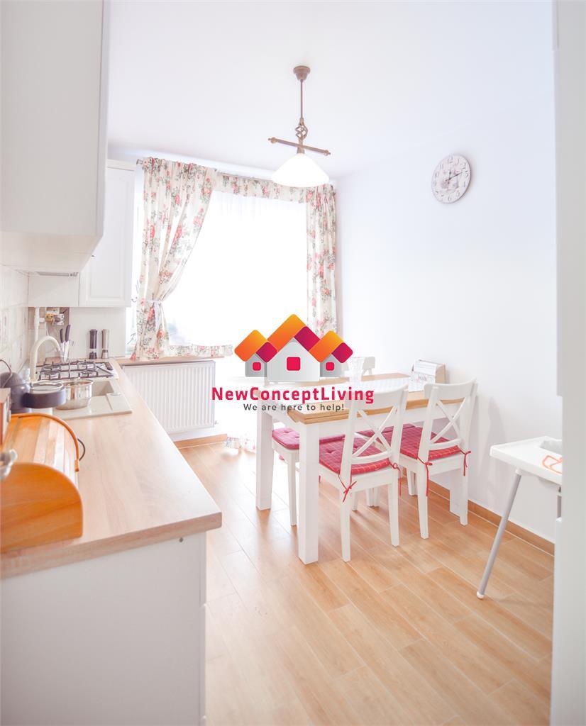 Apartament de vanzare in Sibiu - 3 Camere-Mobilat si Utilat 3 Balcoane