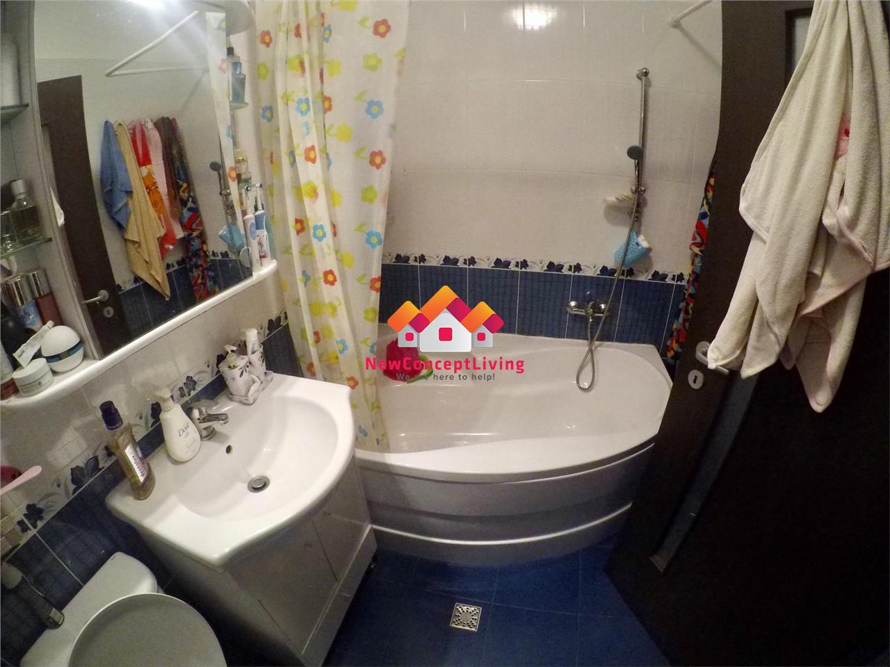 Apartament cu 2 camere de vanzare in Sibiu - Str. Frunzei