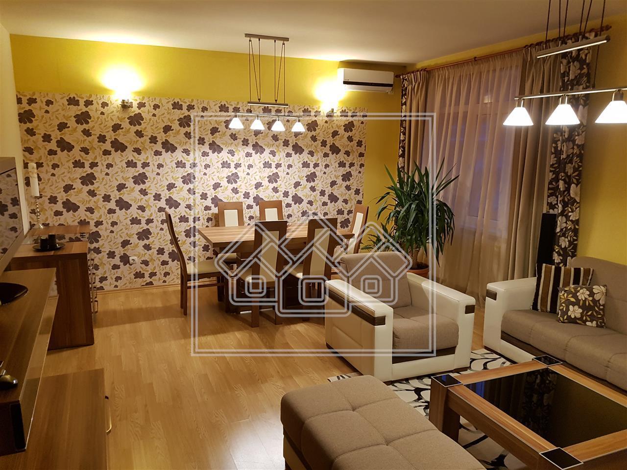 Apartament de vanzare in Sibiu- 3 camere- Locatie deosebita