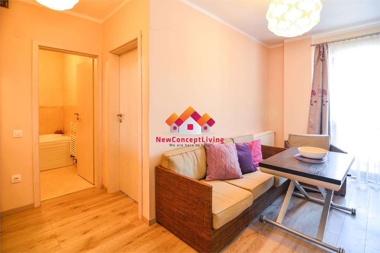 Apartament de vanzare in Sibiu-1 camera-mobilat si utilat-D-na Stanca