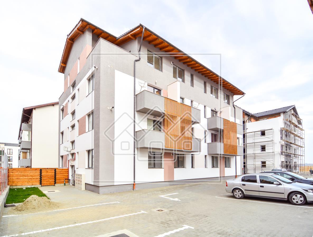 Garsoniera de vanzare in Sibiu - etaj intermediar - imobil nou