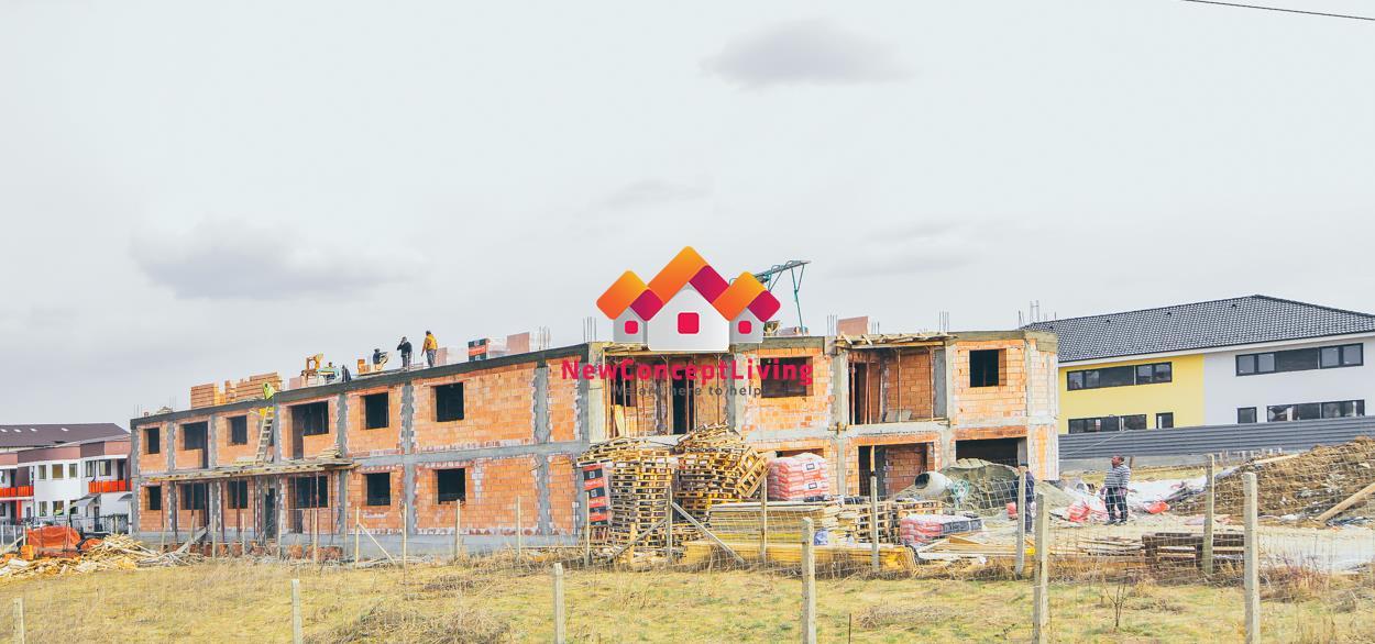 Apartament de vanzare in Sibiu - gradina individuala - imobil nou