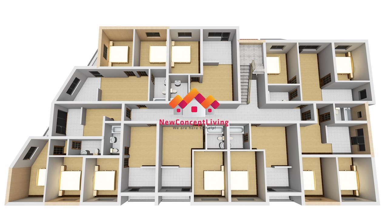 Apartament de vanzare in Sibiu - 3 camere - etaj intermediar