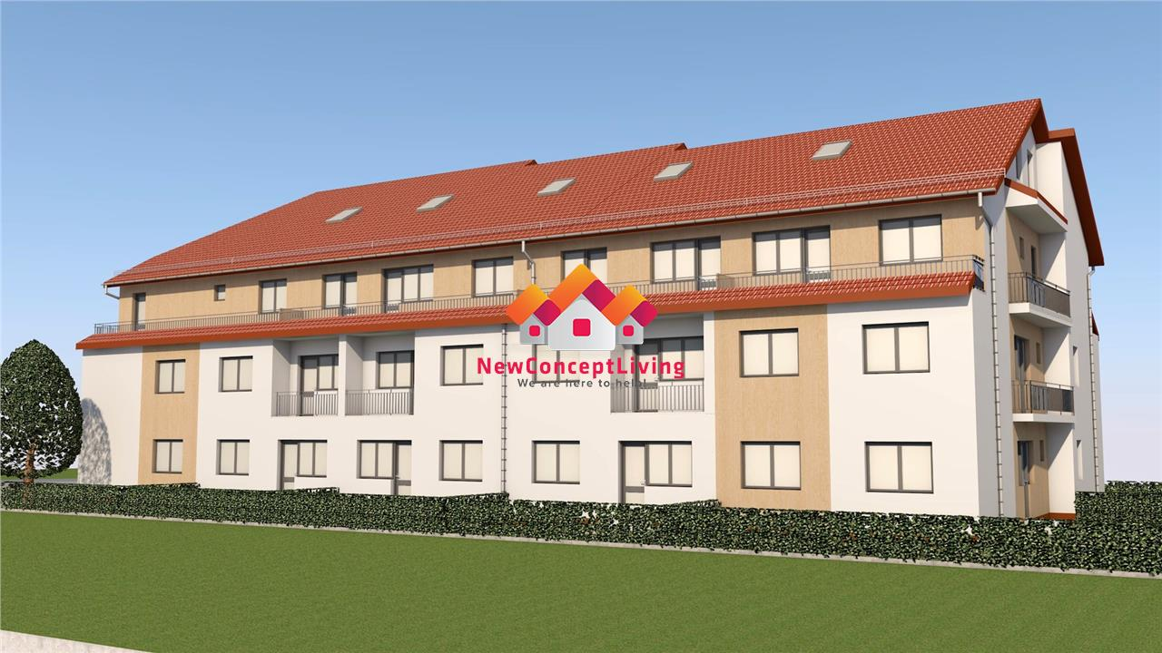 Apartament de vanzare in Sibiu - 2 camere - compartimentare cocheta