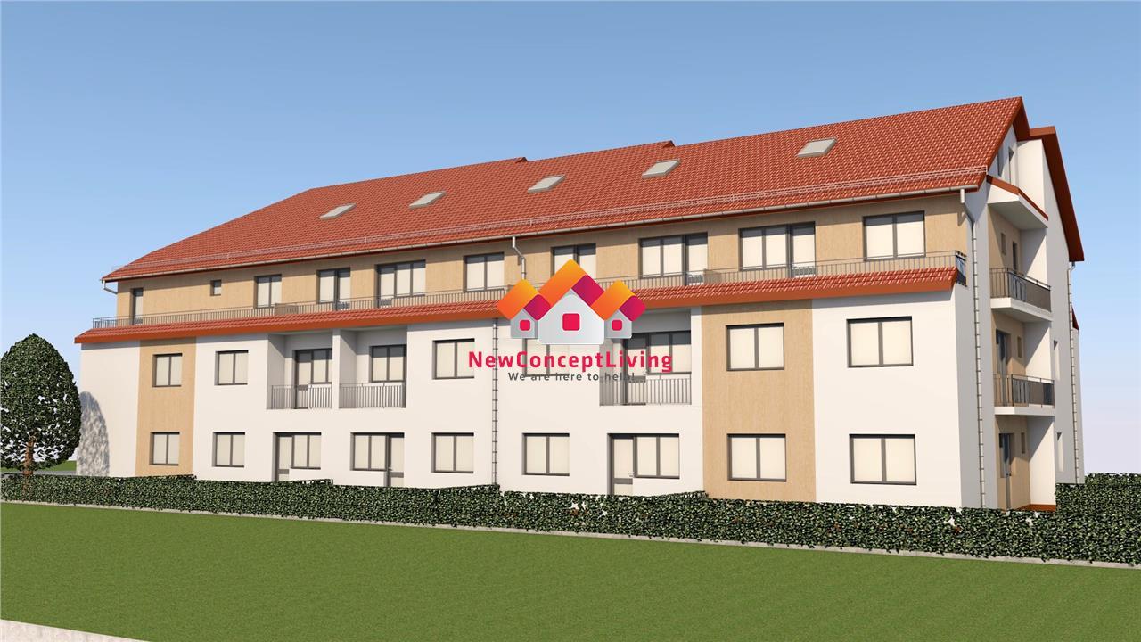Apartament de vanzare in Sibiu - 2 camere - pod mansardabil