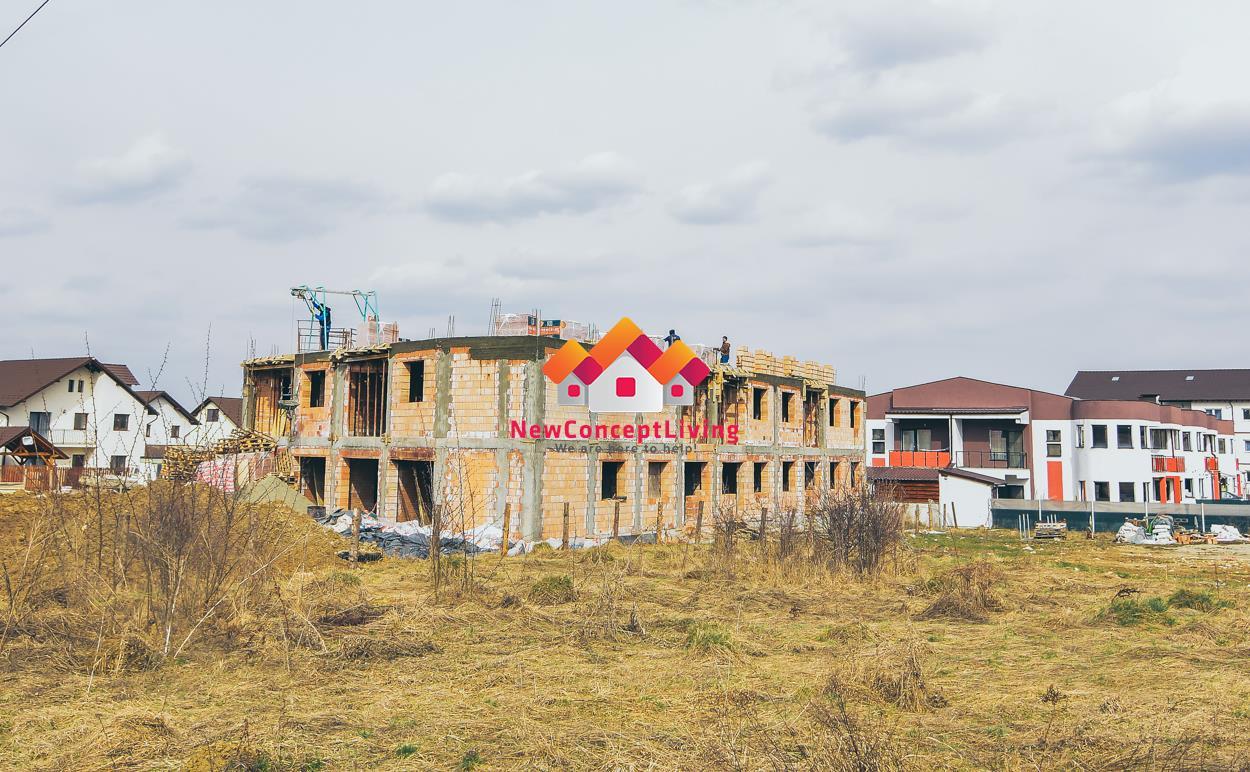 Apartament de vanzare in Sibiu -3 camere -2 balcoane - pod mansardabil