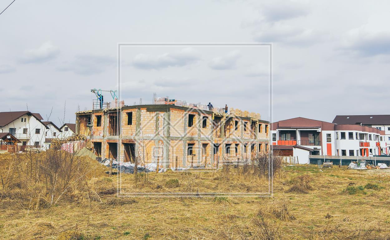 Apartament de vanzare in Sibiu - 2 balcoane si pod mansardabil