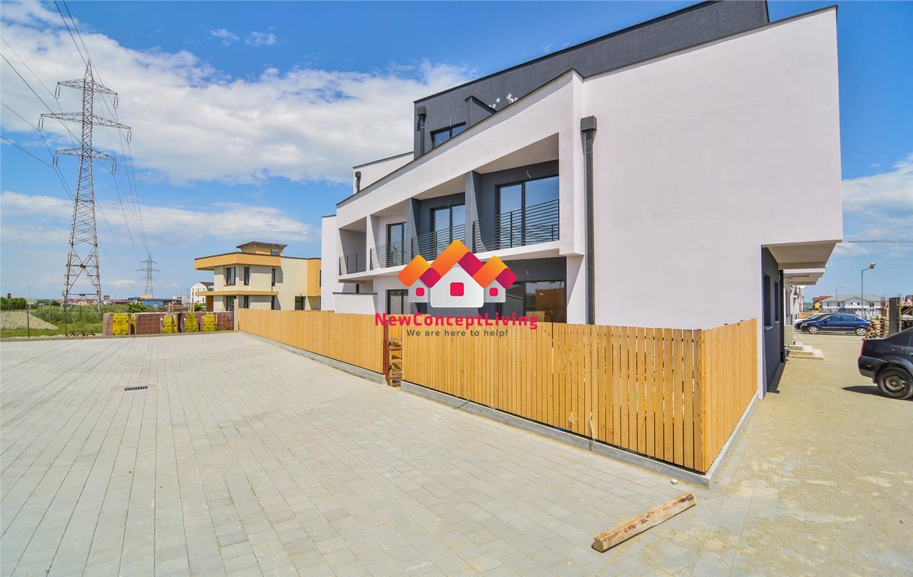 Apartament de vanzare in Sibiu - gradina proprie - predare LA ALB