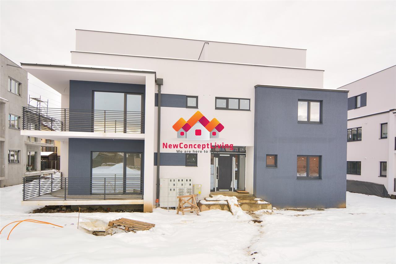 Apartament de vanzare in Sibiu - 3 camere,bucatarie separata - etaj 1