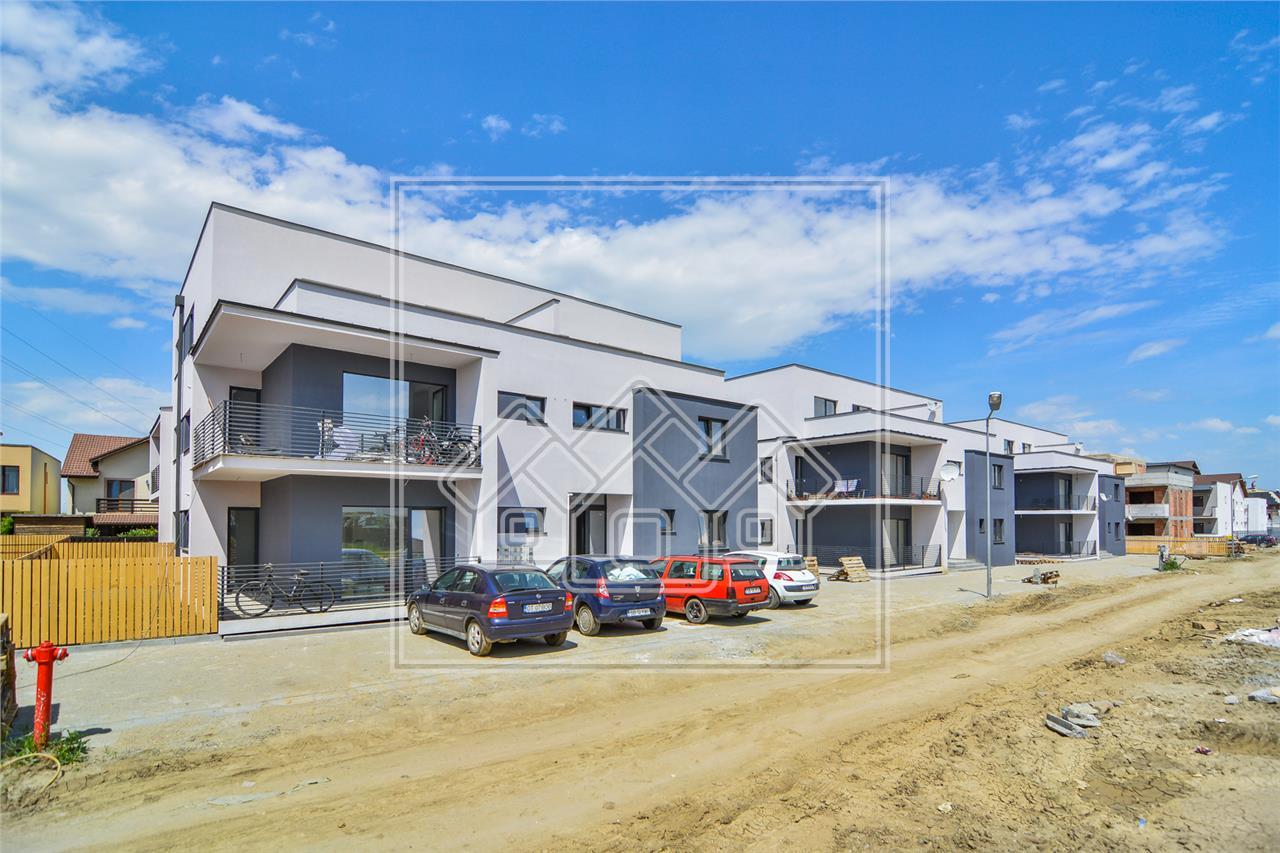 Apartament de vanzare in Sibiu -intabulat -2 balcoane-etaj intermediar