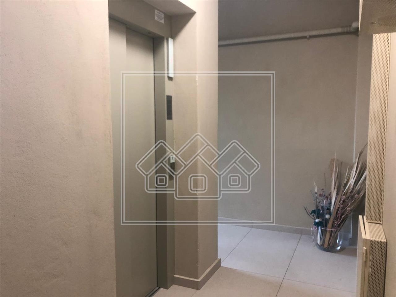 Apartament de inchiriat in Sibiu - Bloc nou cu lift -parcari subterane