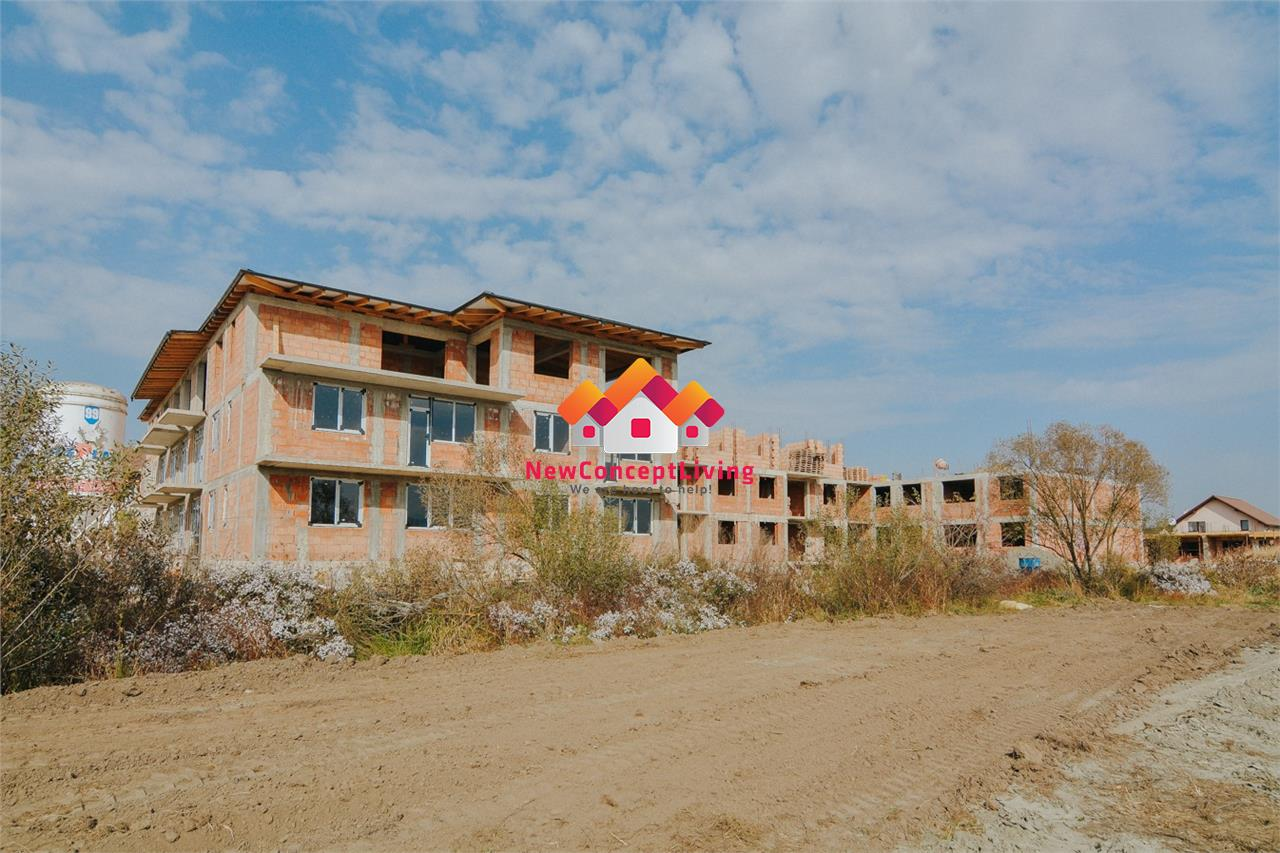 Apartament de vanzare in Sibiu, 3 camere - 82.3 mp si terasa - 27.1 mp