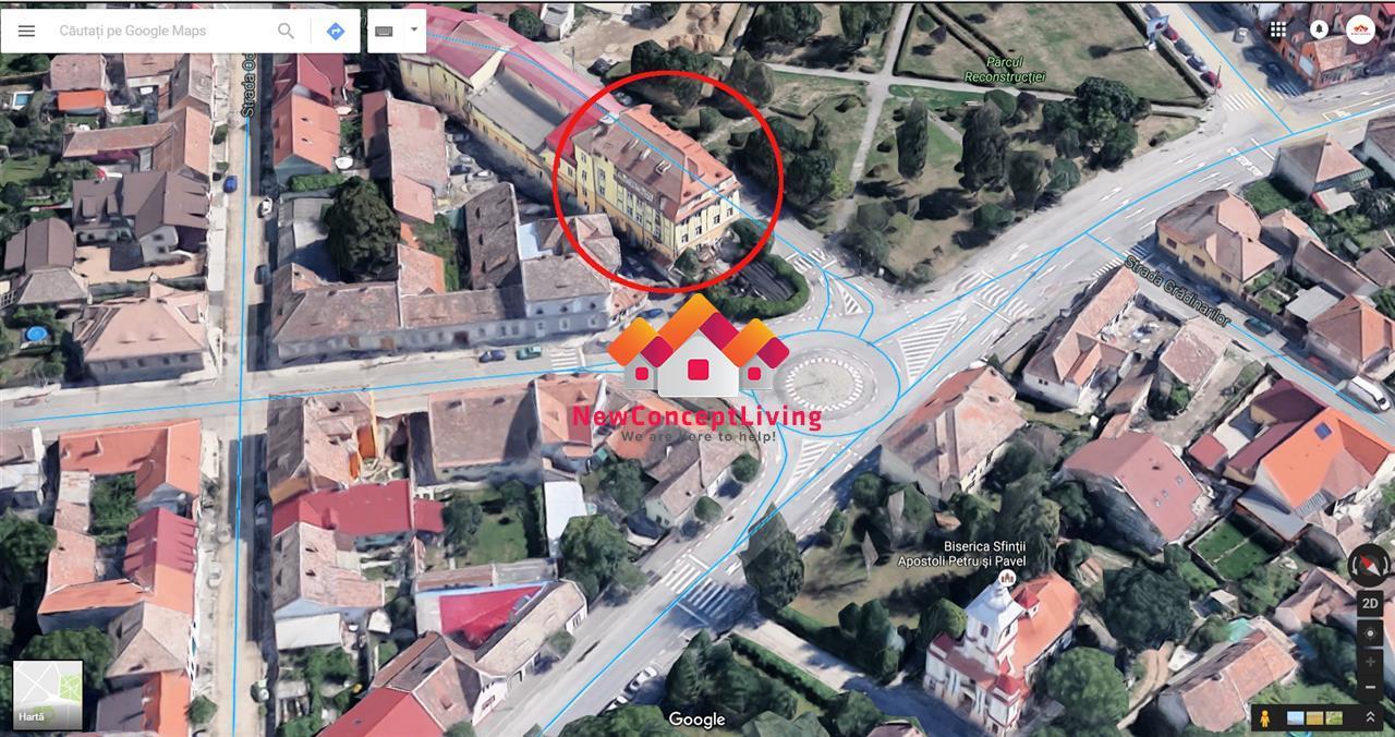 Cladire de Birouri SIBIU - CENTRAL- langa Parc - 800 m de Piata Mare