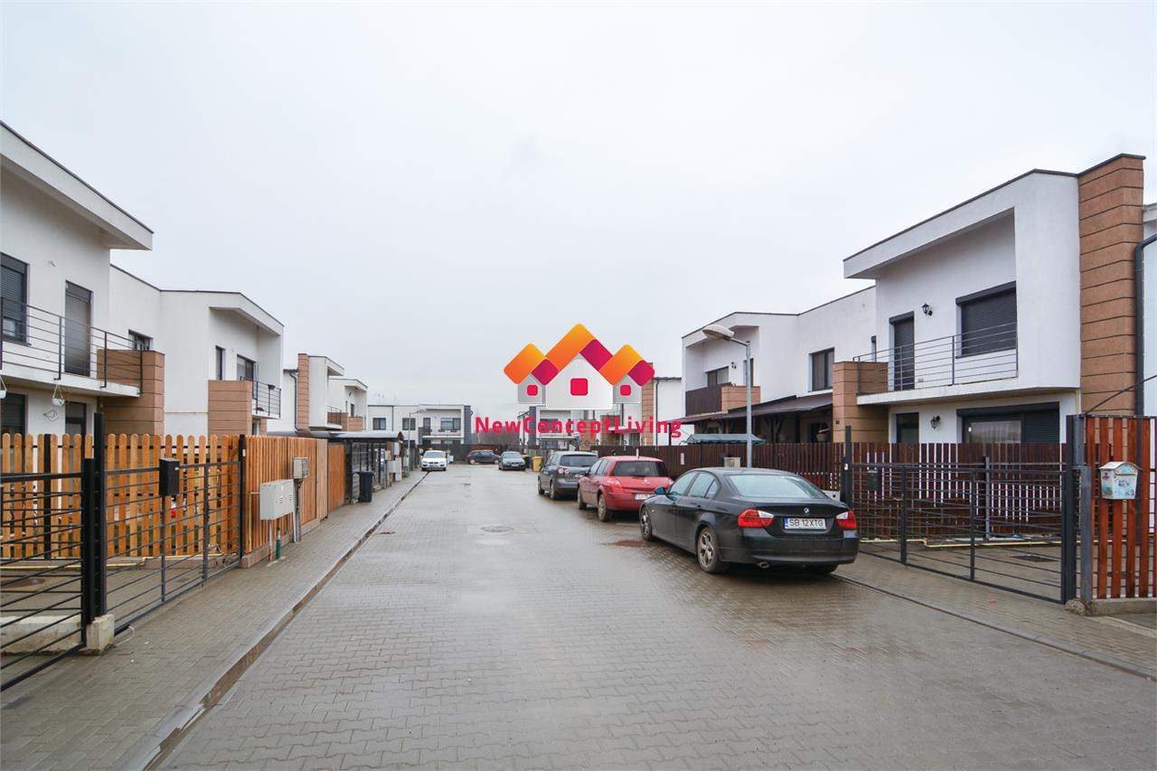 Casa de vanzare in Sibiu - la cheie - curte amenajata - zona Zavoi