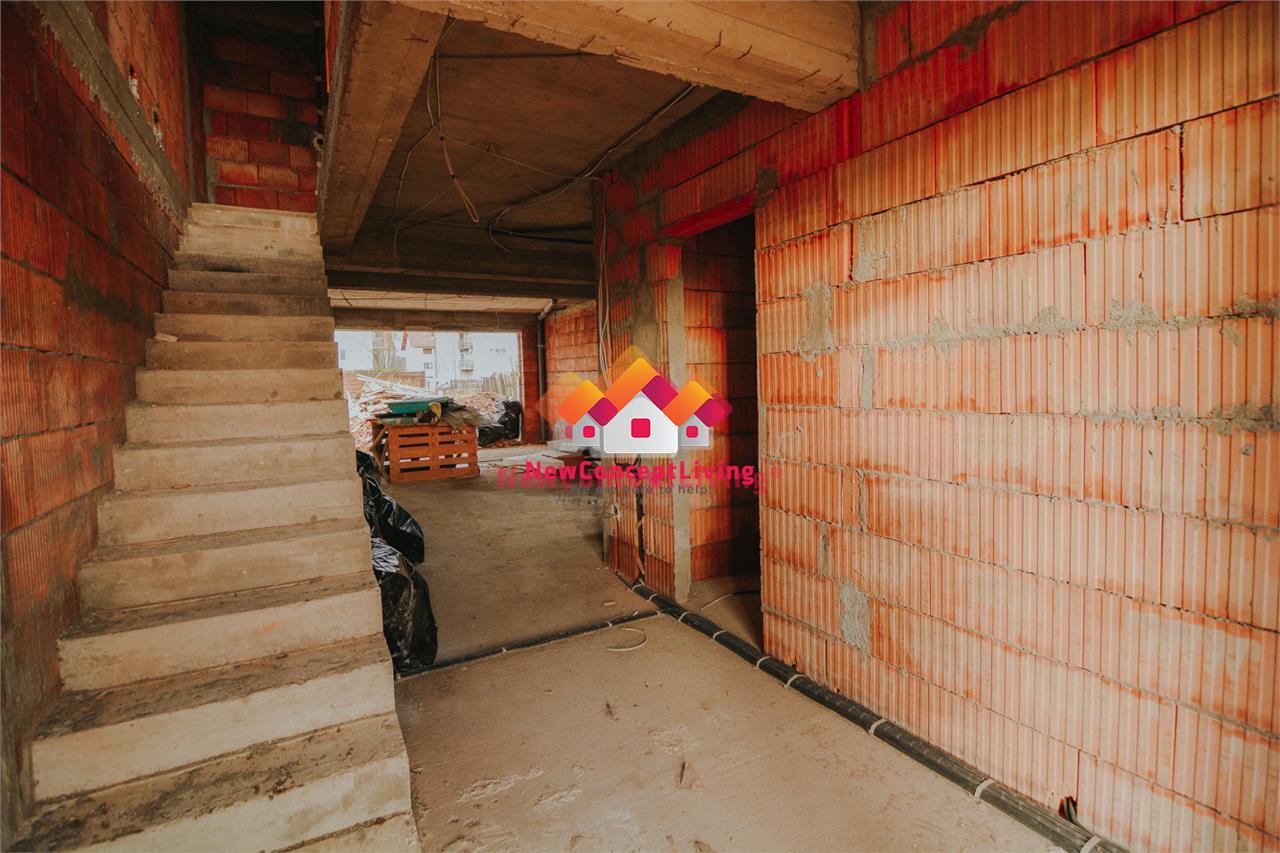 Casă de vânzare în Sibiu predare la cheie - pivniță și izolație fonică