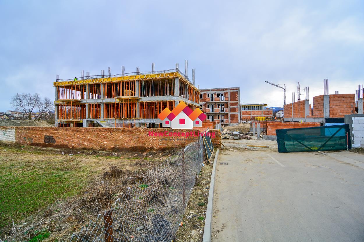 Apartament de vanzare in Sibiu - 2 camere - 51,8 mp utili