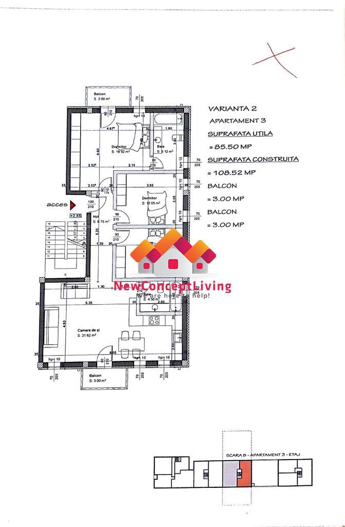 Apartament for sale in Sibiu - opportunity on Sibiu real estate market