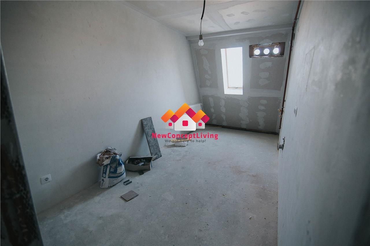 Apartament de vanzare in Sibiu - 2 camere- Intabulat - Finisat Cheie