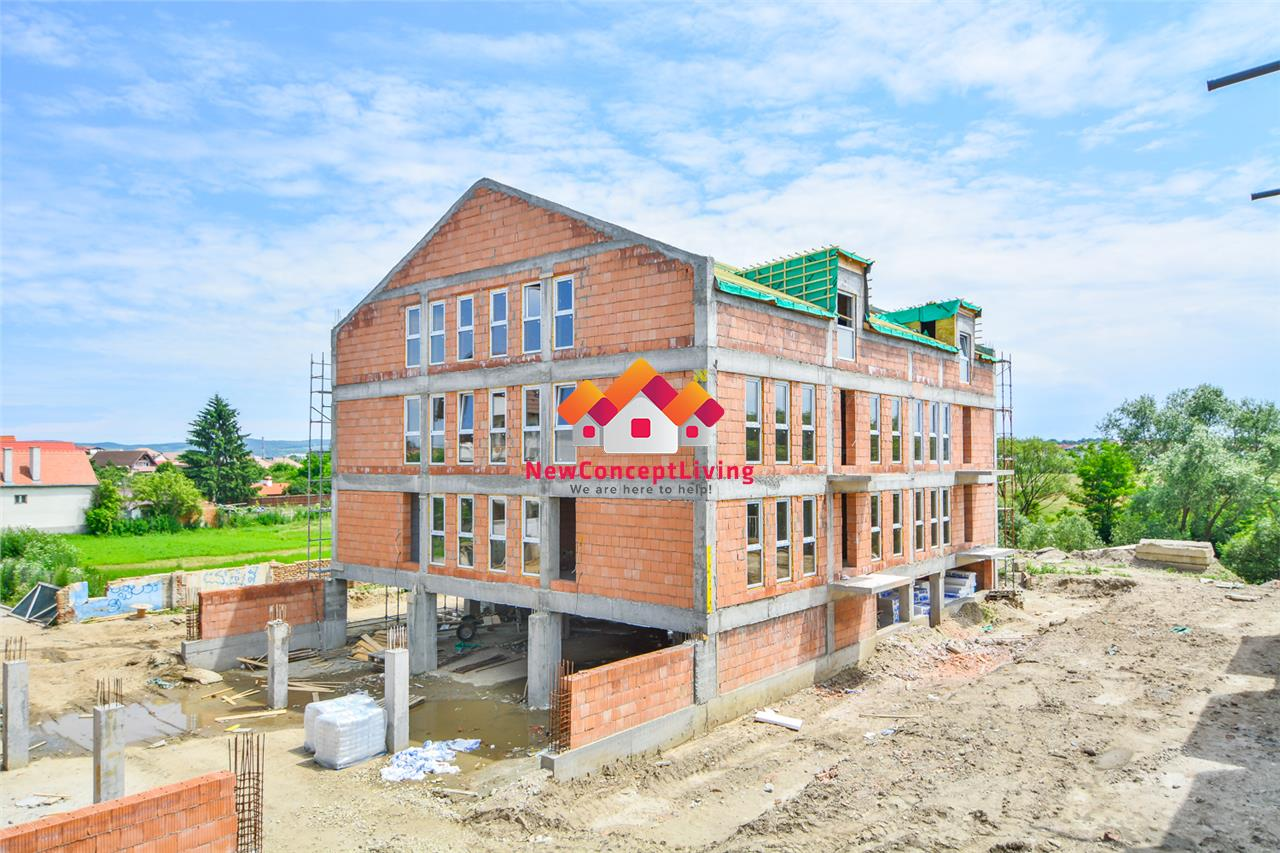 Apartament de vanzare in Sibiu - 3 camere - 88.6 mp utili