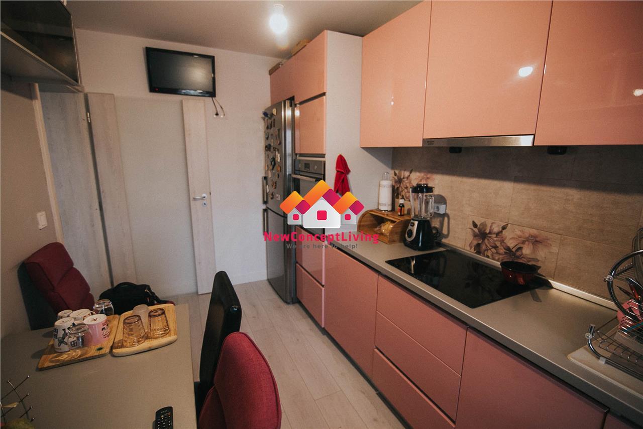 Apartament de vanzare in Sibiu - 4 camere - cu gradina - la cheie