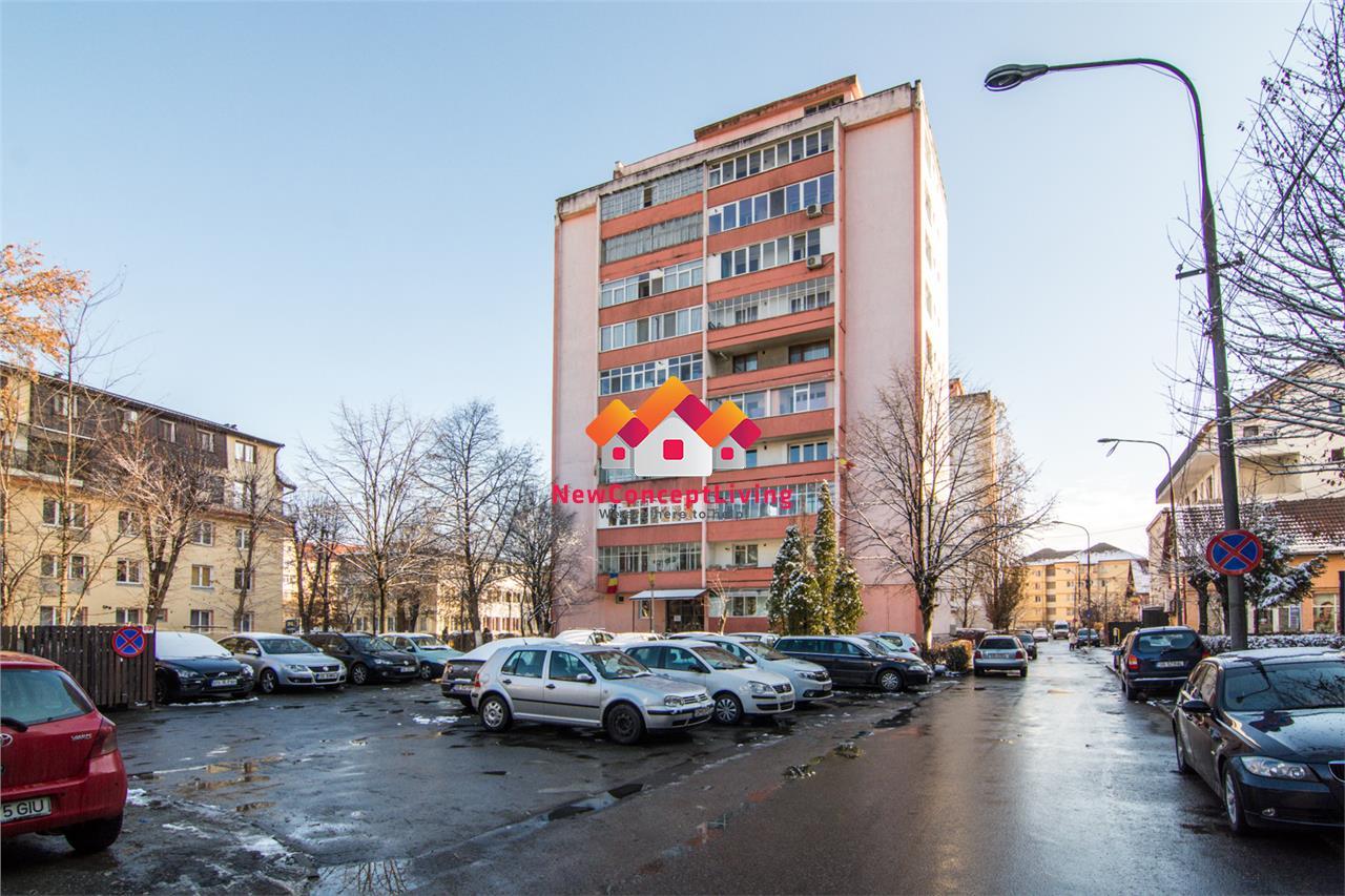Apartament de vanzare in Sibiu 2 camere + Balcon + Pivnita- Zona Milea