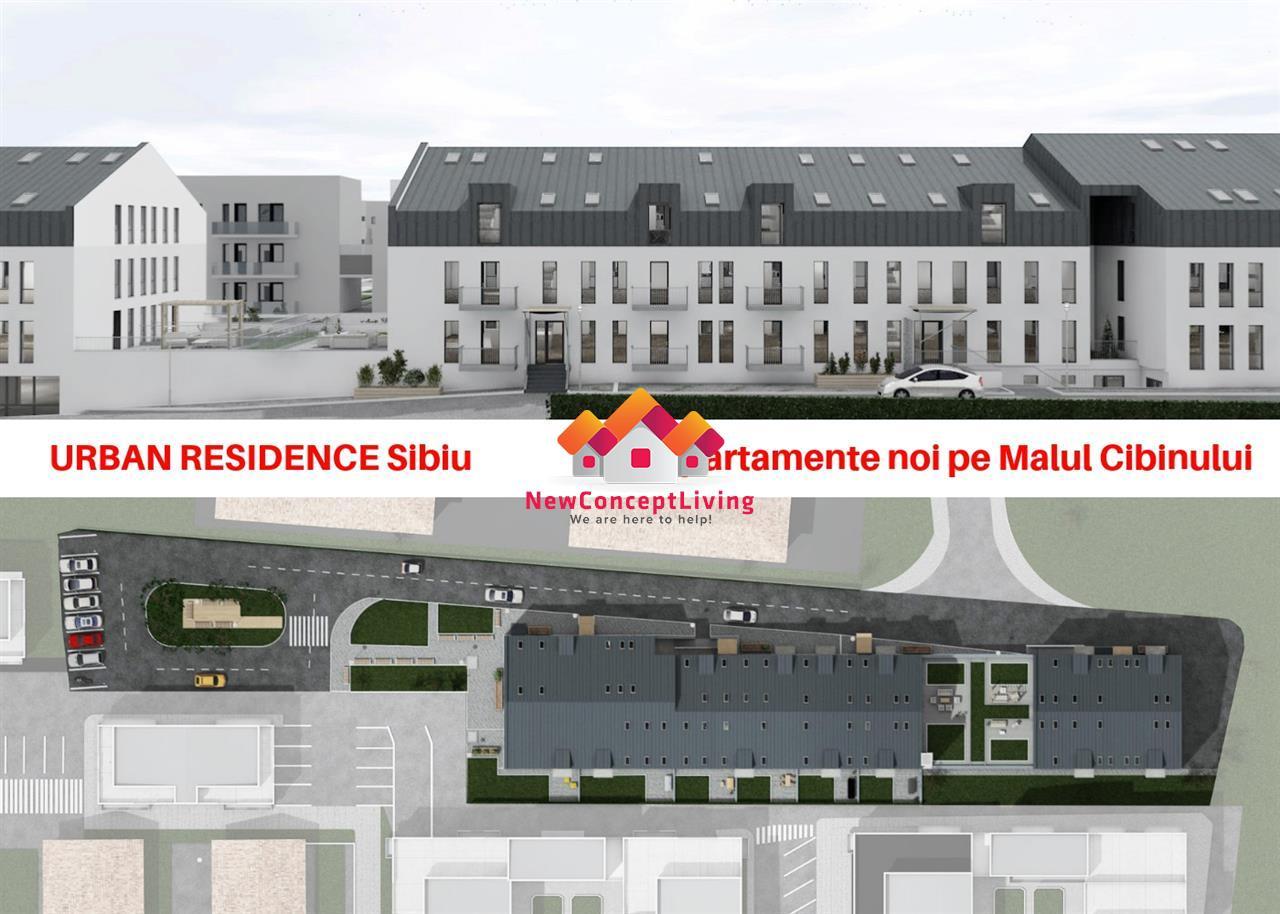 Apartament de vanzare in Sibiu- 2 camere- balcon
