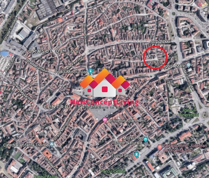 Garsoniera de inchiriat in Sibiu - Zona Centrala