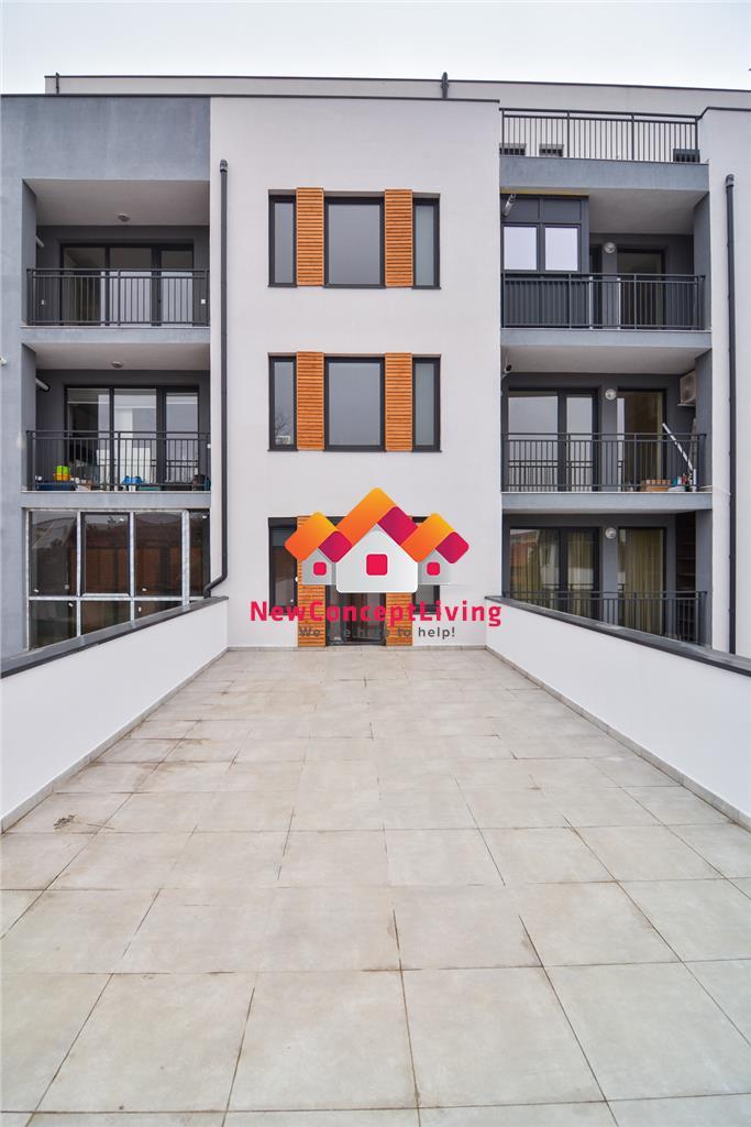Apartament de vanzare in Sibiu - etaj intermediar - terasa 49 mp