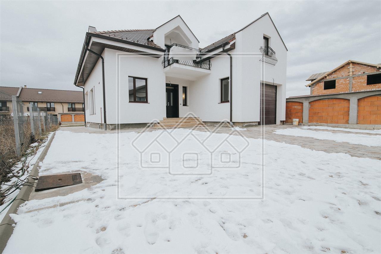 Casa de vanzare in Sibiu - individuala - imobil nou - pivnita si garaj