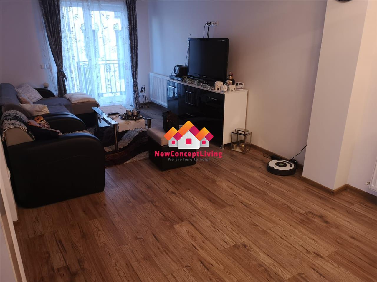 Apartament 3 camere - etaj 2 - mobilat utilat complet