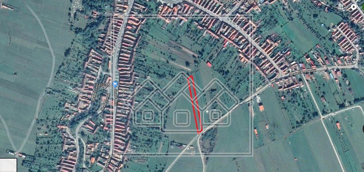Teren de vanzare in Sibiu - zona Orlat - 1700 mp