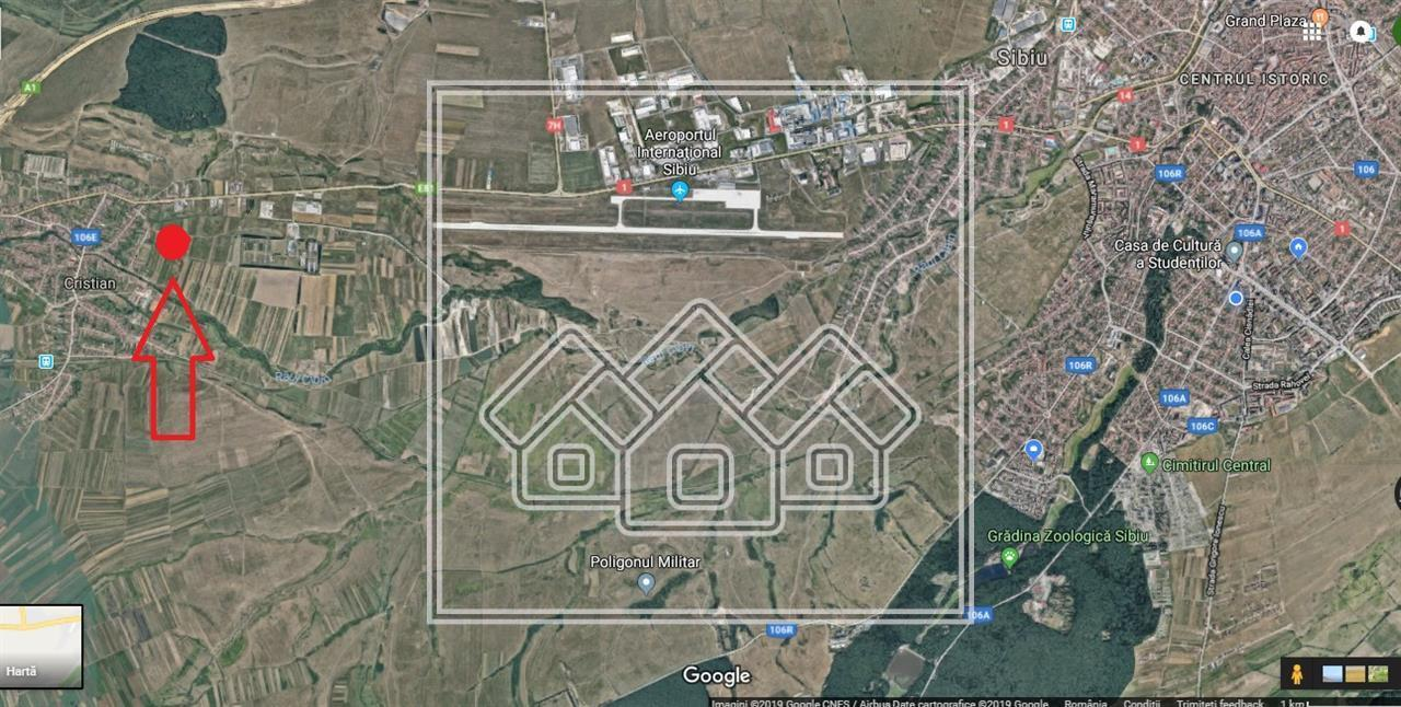 Teren de vanzare in Sibiu - zona Aeroport - 2900 mp