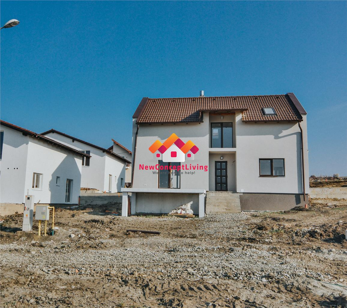 Casa de vanzare in Sibiu - individuala - teren de 392 mp