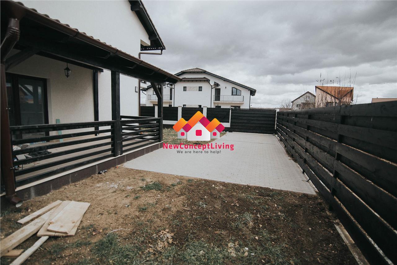 Casa de vanzare in Sibiu- La cheie- Teren liber 190mp