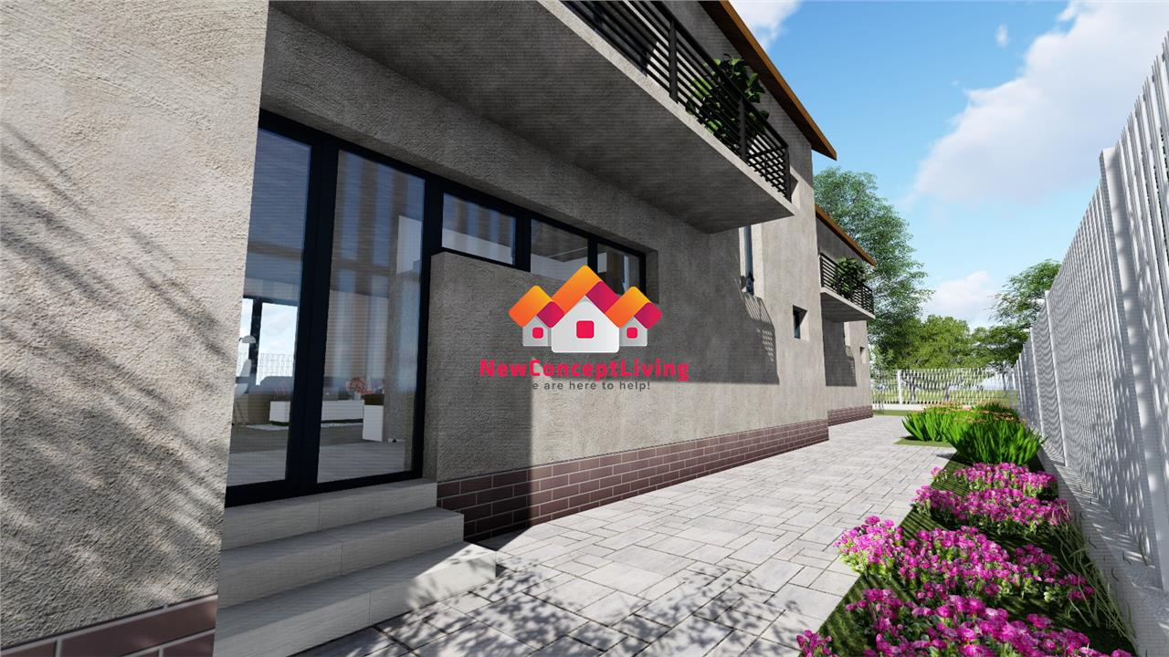 Casa de vanzare in Sibiu - triplex - 4 camere spatioase