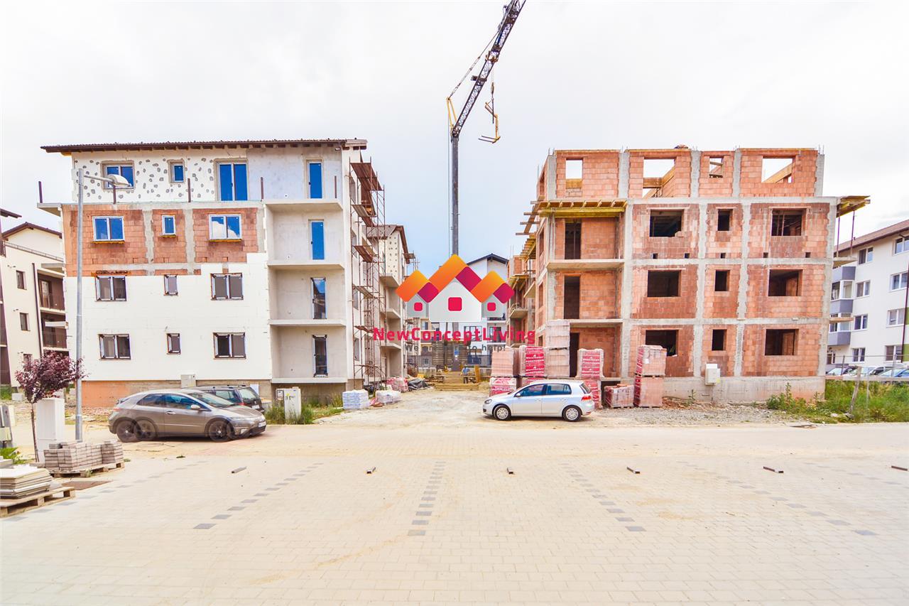 Apartament de vanzare in Sibiu - 2 camere si bucatarie separata