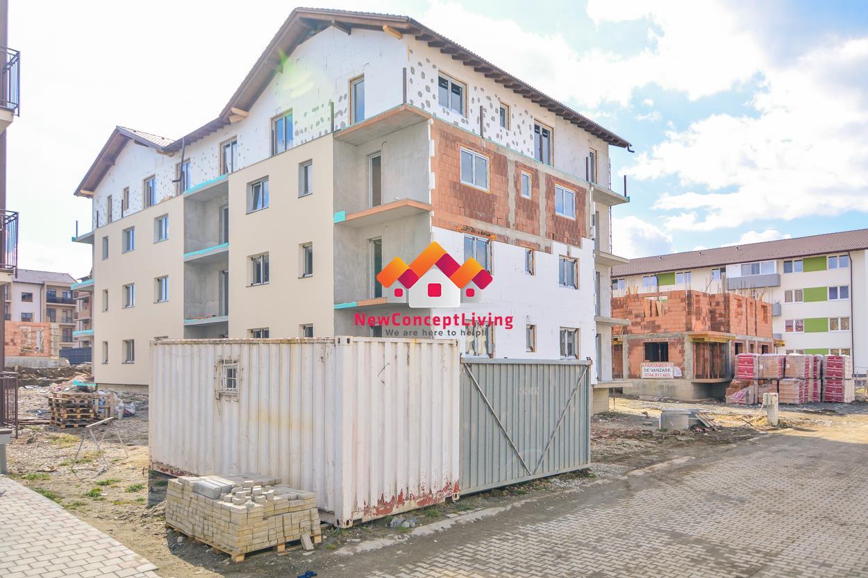 Apartament de vanzare in Sibiu - 3 camere si terasa de 20 mp