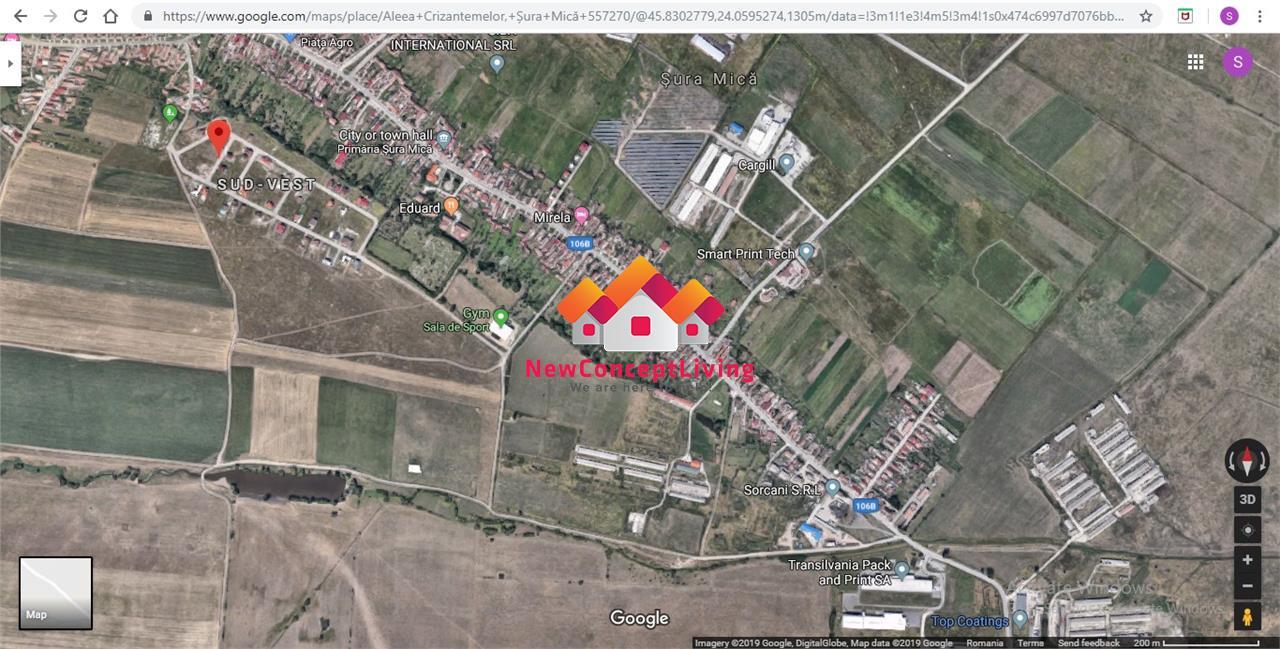 Teren de vanzare in Sibiu - Sura Mica - Intravilan - 330 mp